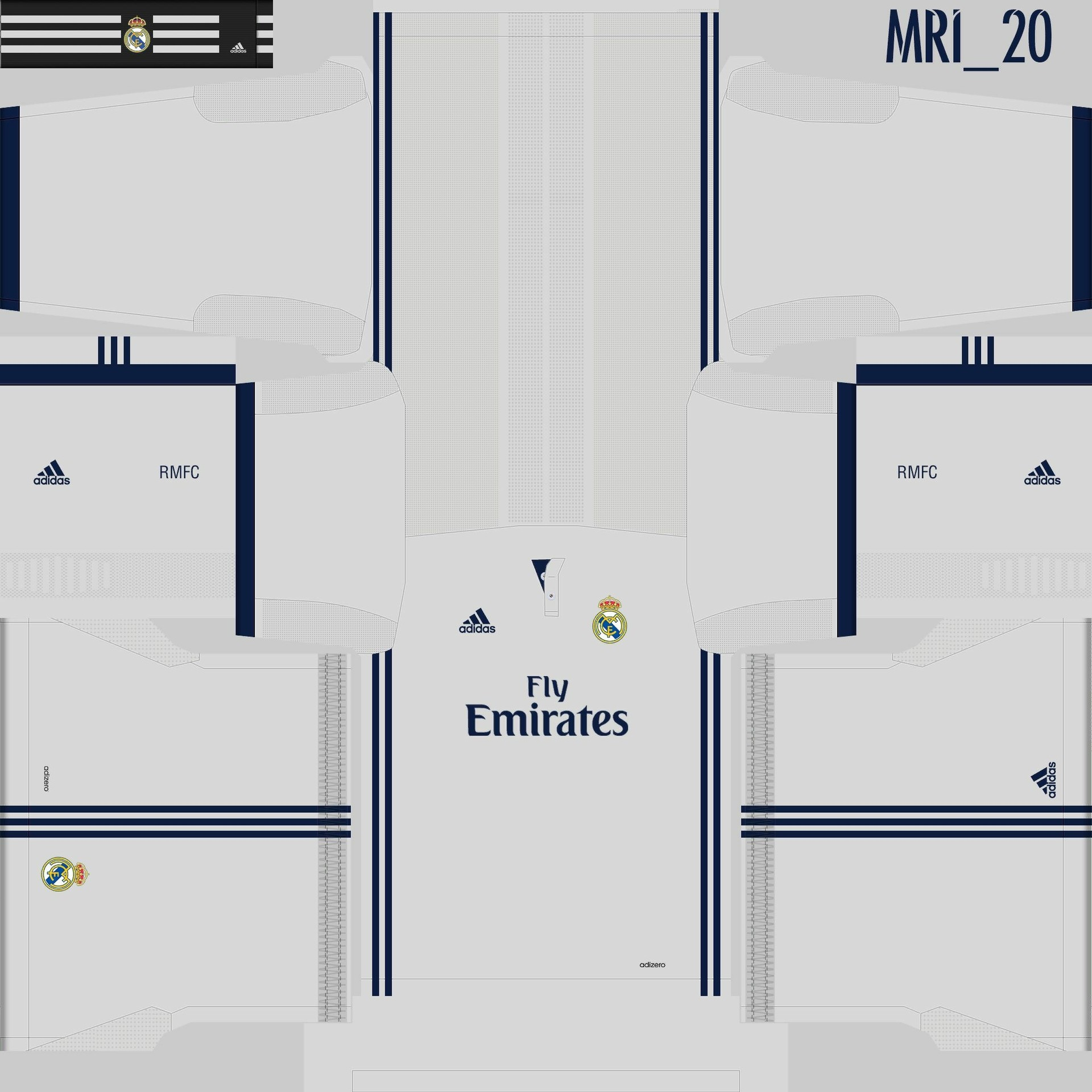 Kit Real Madrid Para Pes 2019: Kits Real Madrid 16/17 Champion