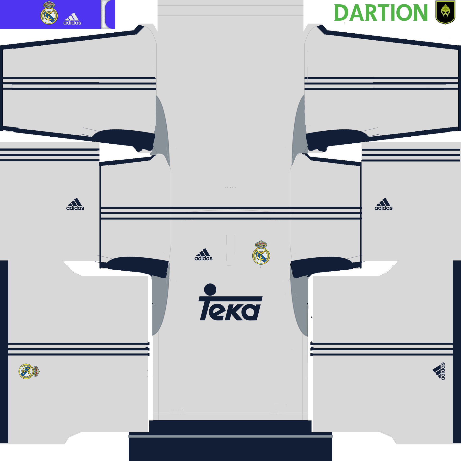 Kit Real Madrid Para Pes 2019: Uniformes Clasicos Real Madrid/ Pedido