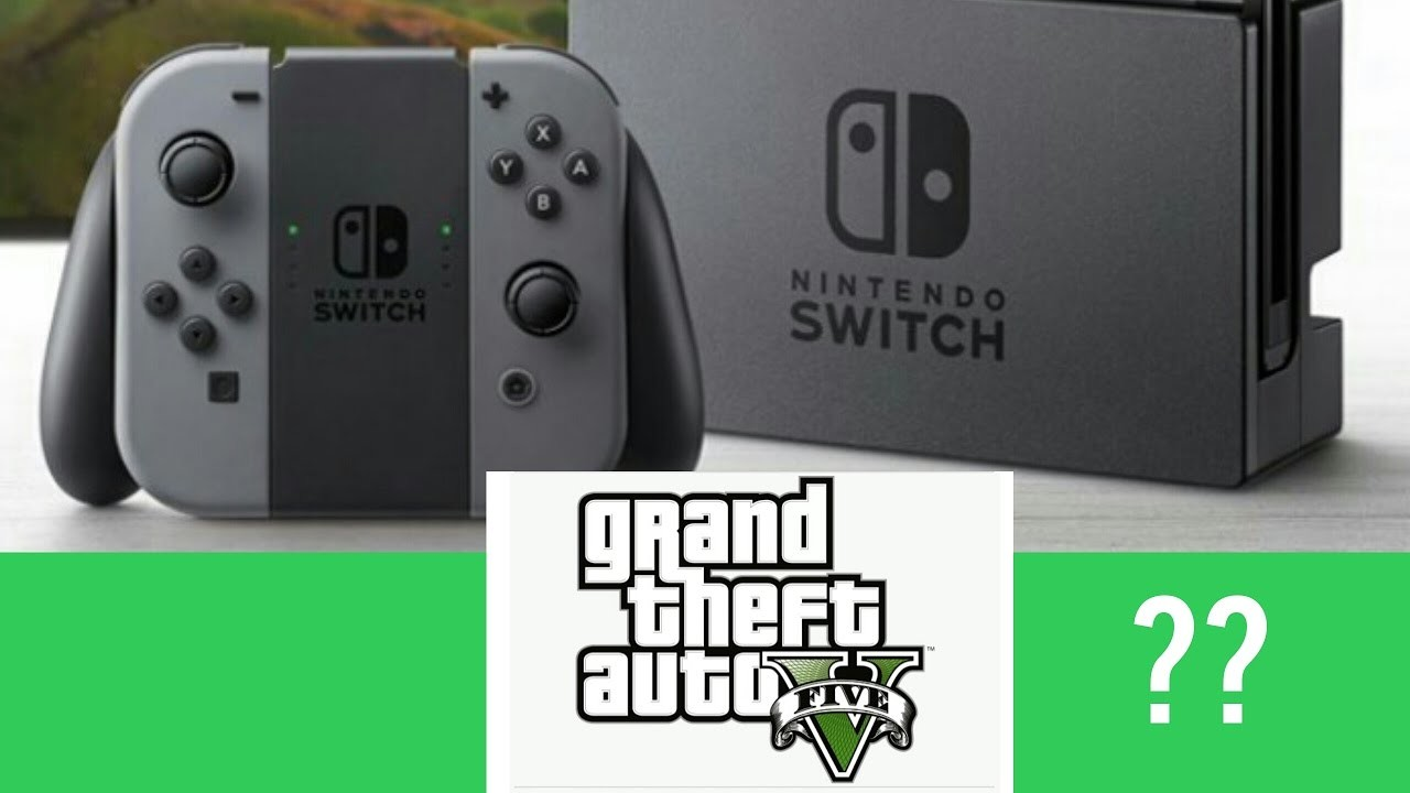 Gta V En Switch Nintendo Gaming 3djuegos