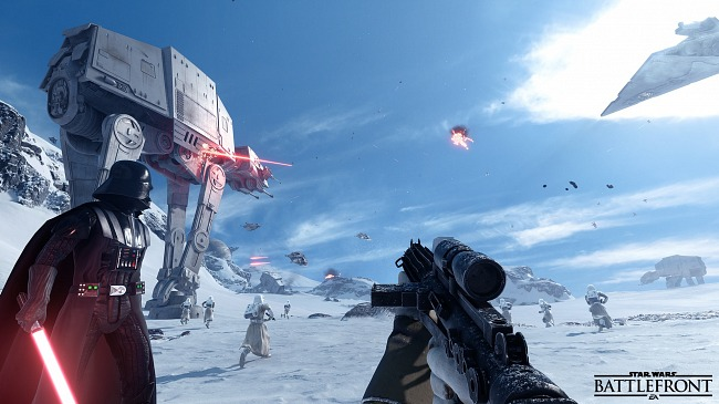 Criterion has participated in the development of Star Wars Battlefront