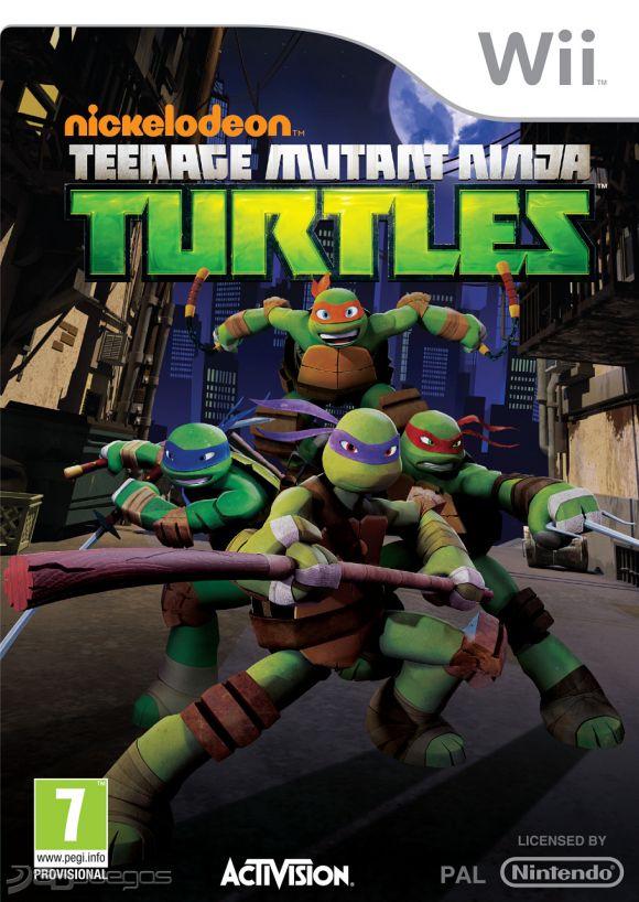 Nickelodeons Teenage Mutant Ninja Turtles para Wii  3DJuegos