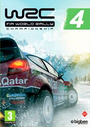 Car�tula oficial de WRC 4 PC