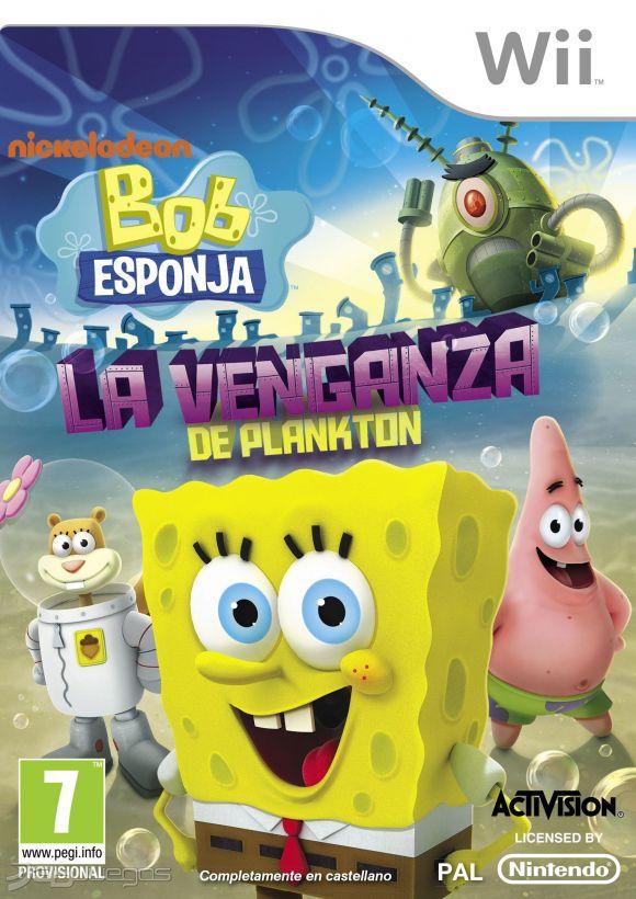 Bob Esponja La venganza de Plankton para Wii  3DJuegos
