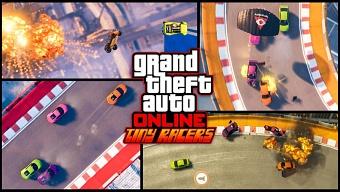 GTA Online se pasa a la vista cenital con Tiny Racers