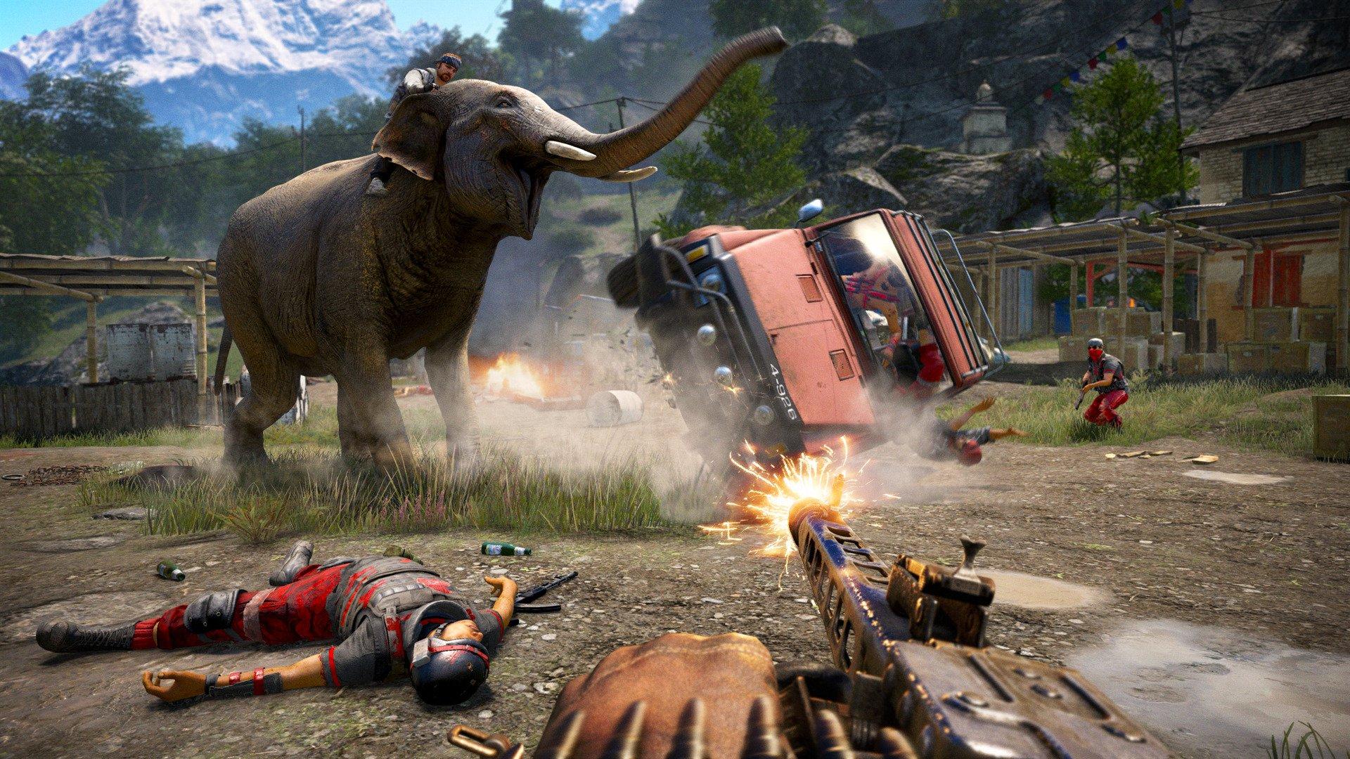 Far Cry 4 Limited Edition ya esta para descargar en skidrow
