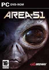 Car�tula oficial de Area 51 PC