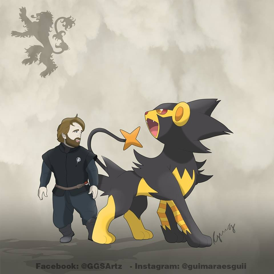 Tyrion Lannister y Luxray