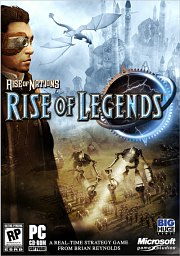 Car�tula oficial de Rise of Nations: Rise of Legends PC