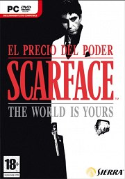 Car�tula oficial de Scarface: the World is Yours PC