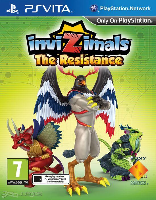 Invizimals La Resistencia para Vita  3DJuegos