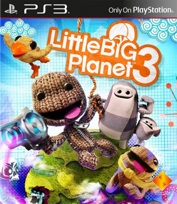 Resultado de imagen para LITTLE BIG PLANET 3 ps3