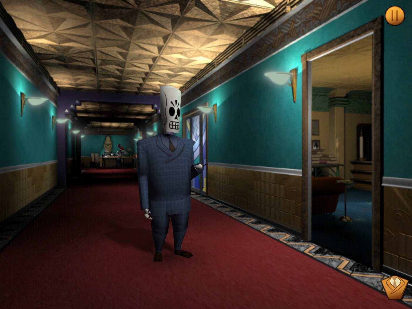 Grim Fandango Remastered - Imágenes juego PC - 3DJuegos