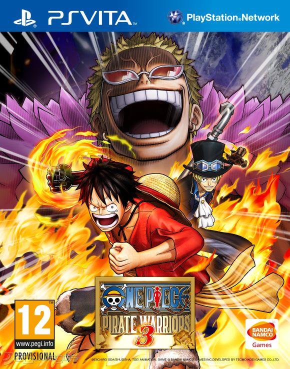 One piece pirate warriors 3 para vita 3djuegos for One piece juego
