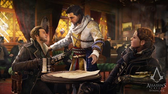 The story of Assassin's Creed: Syndicate will be driven by its characters