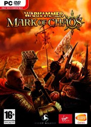 Car�tula oficial de Warhammer: Mark of Chaos PC