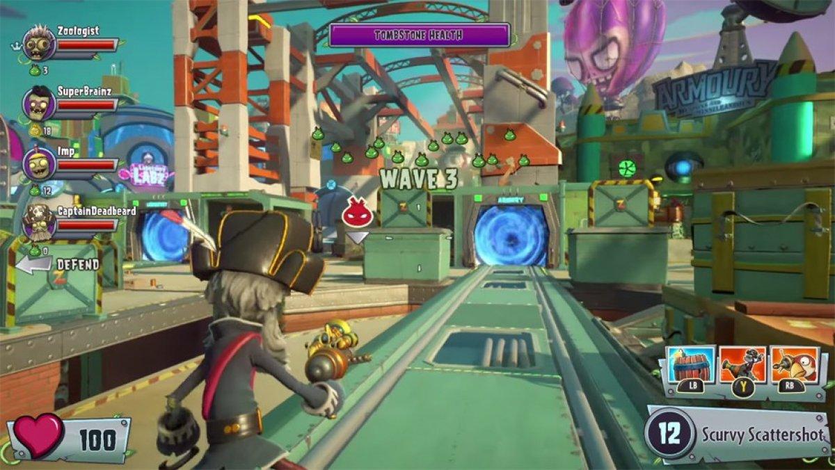 Video De Plants Vs Zombies Garden Warfare 2 Gameplay E3 2015 Ps4 Pc Xone