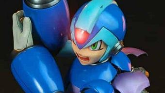 Mega Man se luce en una espectacular figura por su 30 aniversario