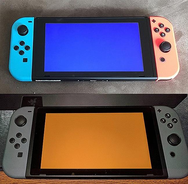 Nintendo Switch la pechea, llegó el pantallazo de la muerte