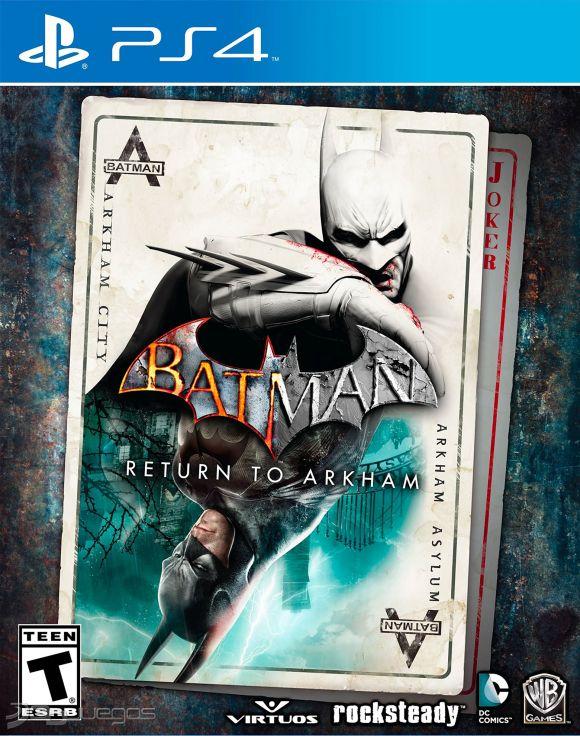 Resultado de imagen de imagenes de Videojuego Batman return to Arkham para PlayStation 4