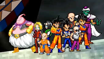 Recrean Dragon Ball Super como un juego de 16-bits