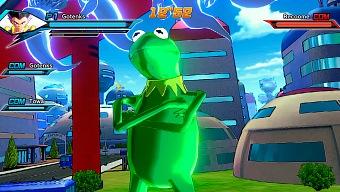 La rana Gustavo es la nueva estrella de Dragon Ball Xenoverse 2