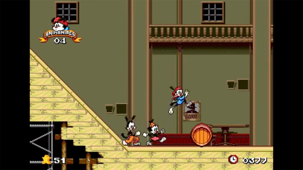 Animaniacs - Sega Genesis, GameBoy, SNES (1994)