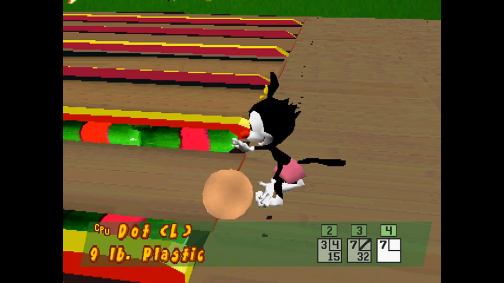Animaniacs Ten Pin Alley - PlayStation (1998)