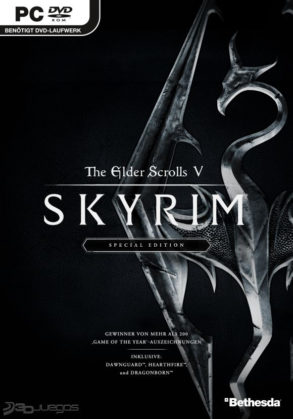 The Elder Scrolls V Skyrim Special Edition PS4 PC Xbox360 PS3 Wii Nintendo Mac Linux
