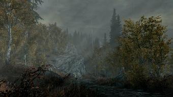 Un mod aplica lluvia superrealista a Skyrim