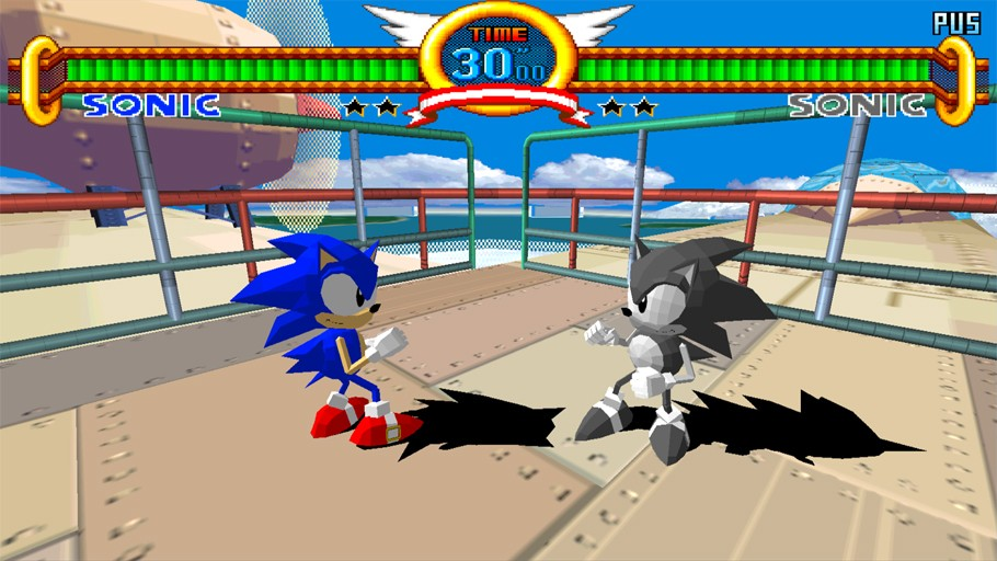 Sonic The Fighters (1996)