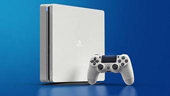 Sony presenta la PS4 Slim color Glacier White