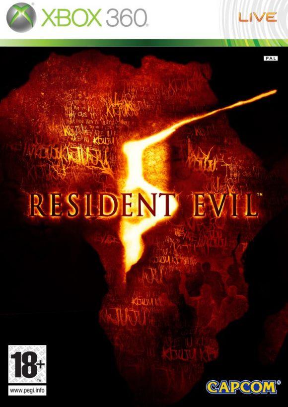 Car�tula de Resident Evil 5