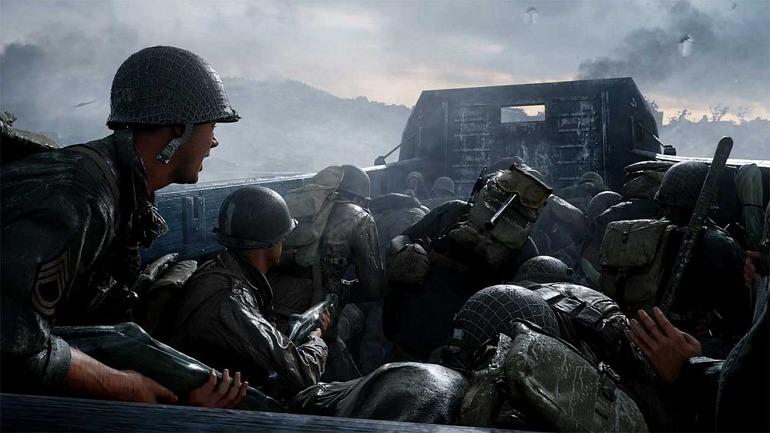 Call of Duty WW2, aspirante a CoD más vendido de la actual generación en UK