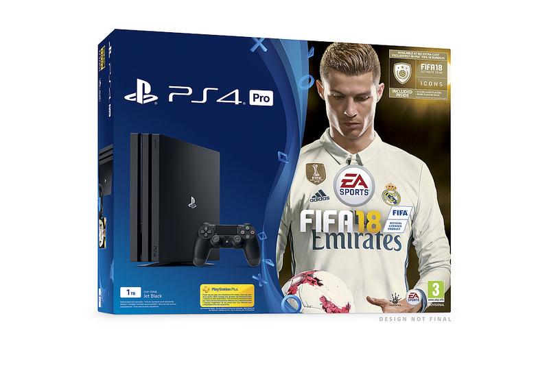 Sony ha anunciado una serie de packs de PS4 junto con FIFA 18 90456afea3138