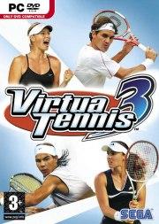 Car�tula oficial de Virtua Tennis 3 PC