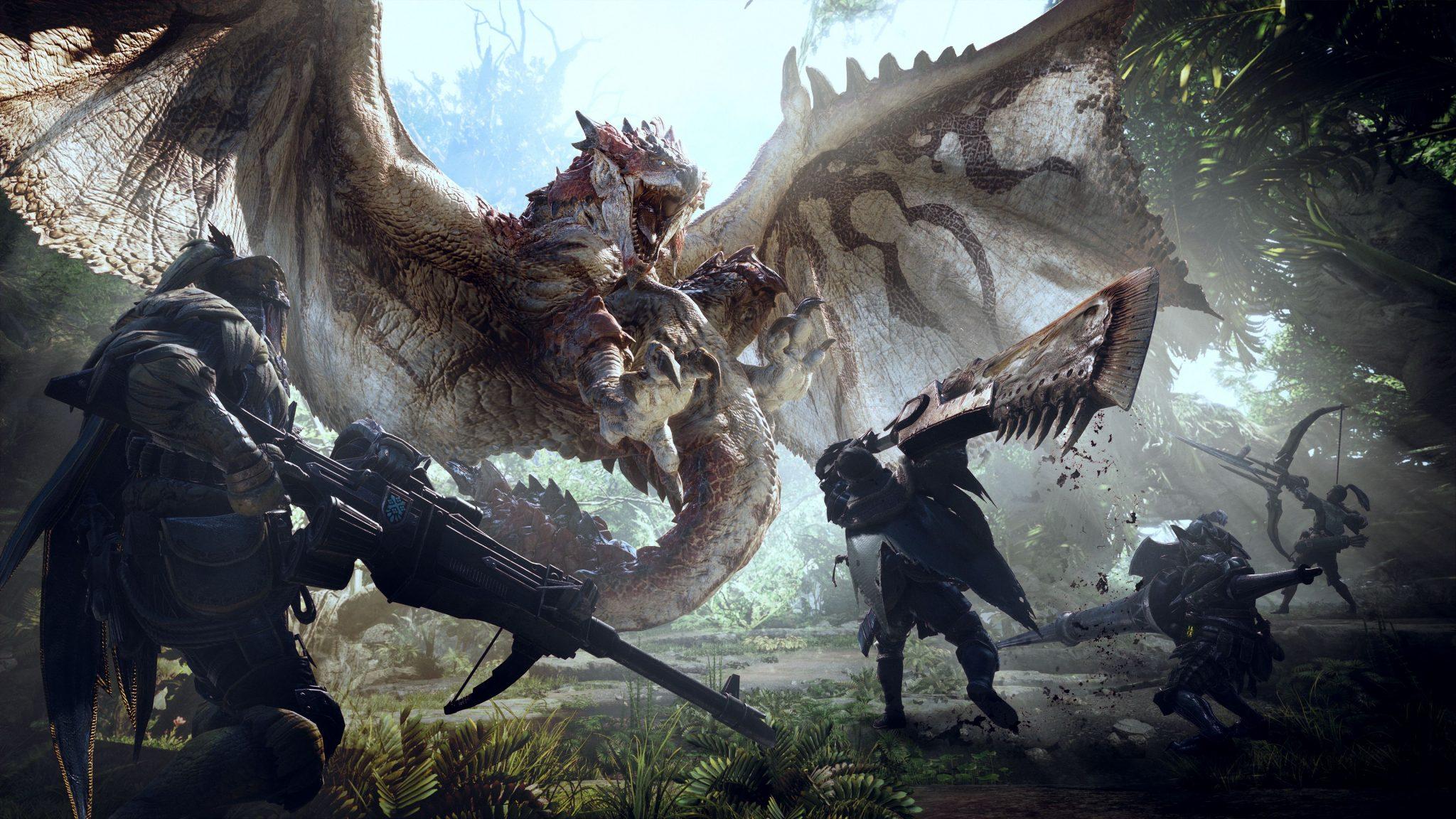 Resultado de imagen de monster hunter world