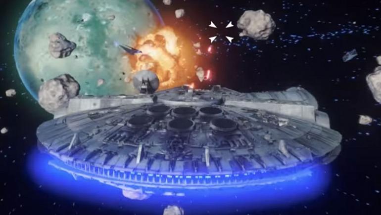 Revelan imágenes de juego rechazado de Star Wars