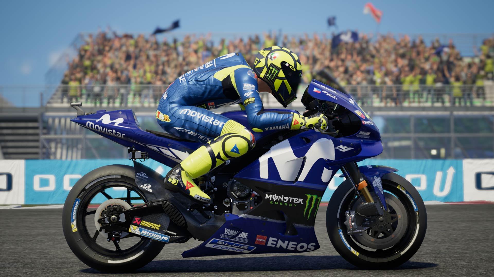 MotoGP 18 permite los detallados análisis de Sim Racing