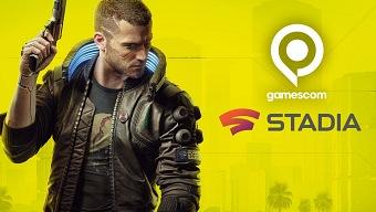 Cyberpunk 2077 entre los anuncios destacados de la conferencia de Stadia en la Gamescom