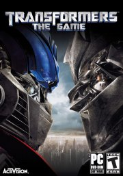 Car�tula oficial de Transformers: The Game PC