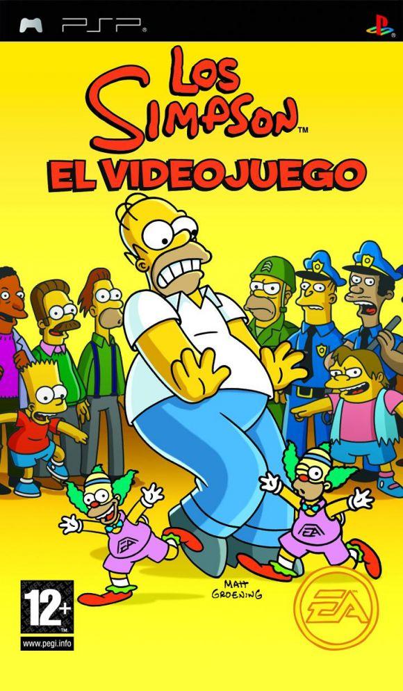 Los Simpson El Videojuego para PSP  3DJuegos
