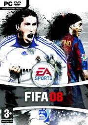 Car�tula oficial de FIFA 08 PC