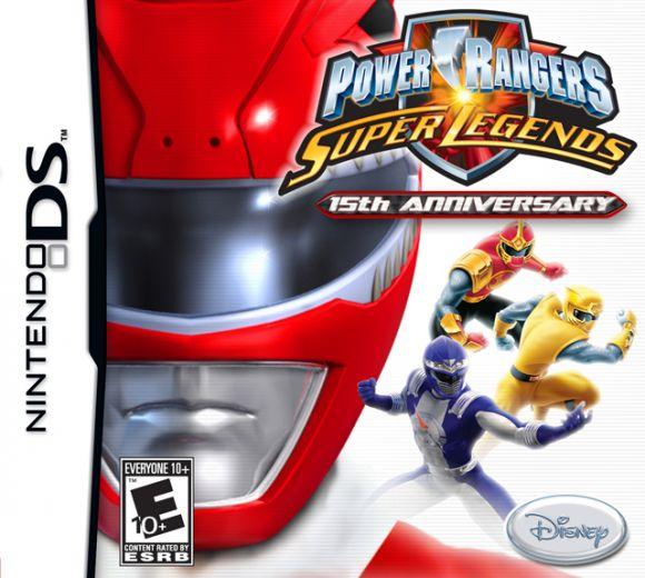 Power Rangers Super Legends para DS  3DJuegos