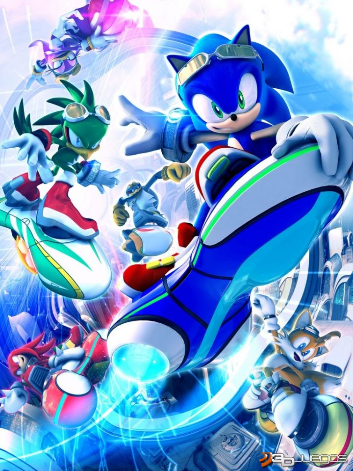 Screens Zimmer 1 angezeig: sonic riders ps3