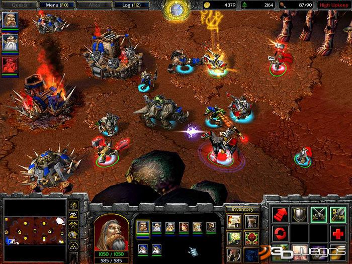warcraft 3 expansiones: