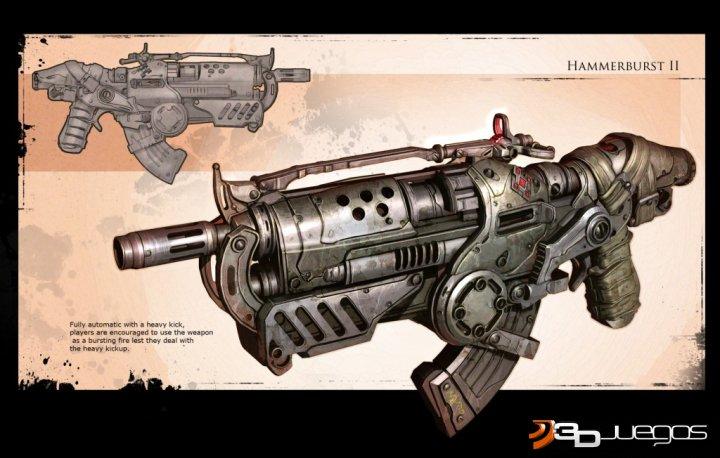 Muchas imagenes de gears of war 2