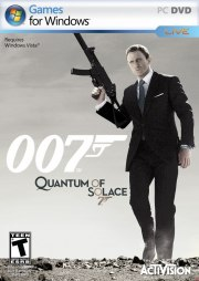 Car�tula oficial de James Bond: Quantum of Solace PC