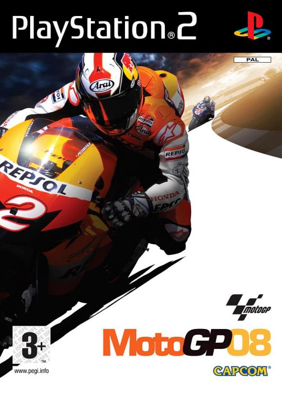 MotoGP 08 para PS2 - 3DJuegos