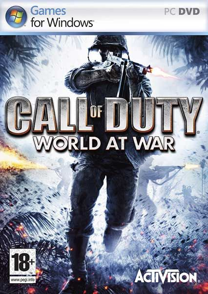 Call of Duty World at War PS4 PC Xbox360 PS3 Wii Nintendo Mac Linux