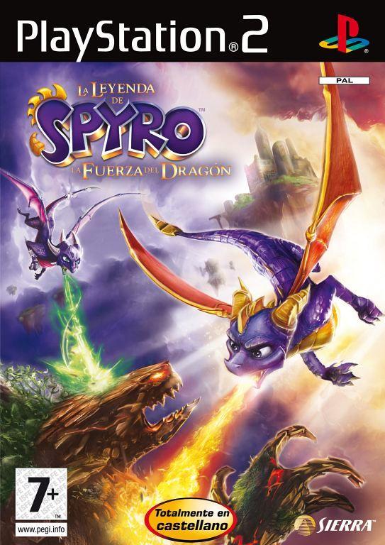 Carátula de Spyro: La Fuerza del Dragón